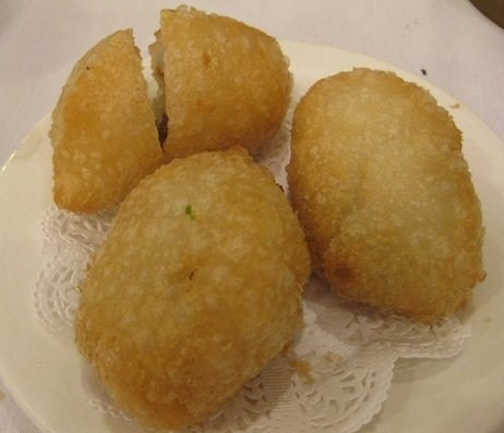 deep fried dumpling